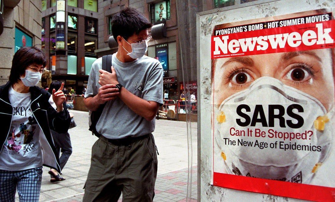 Epidemia de SARS-CoV-1 din 2002-2004