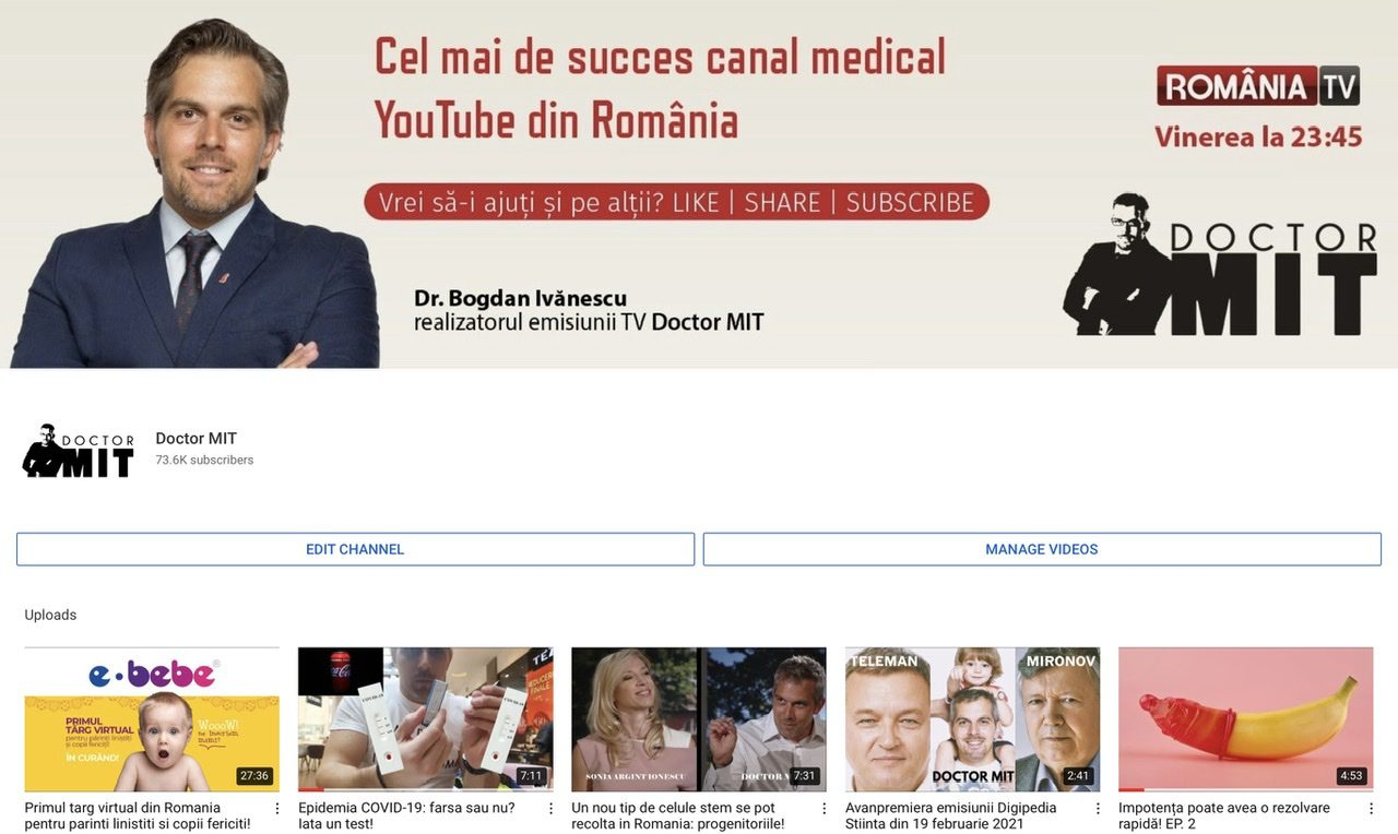 YouTube Doctor MIT