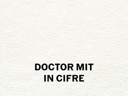 Doctor MIT in cifre
