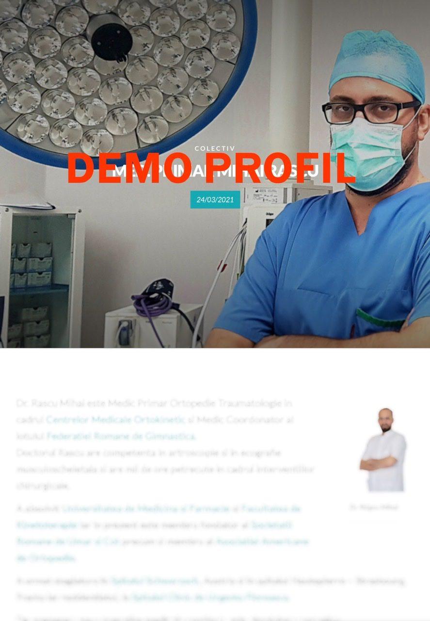 DEMO profil